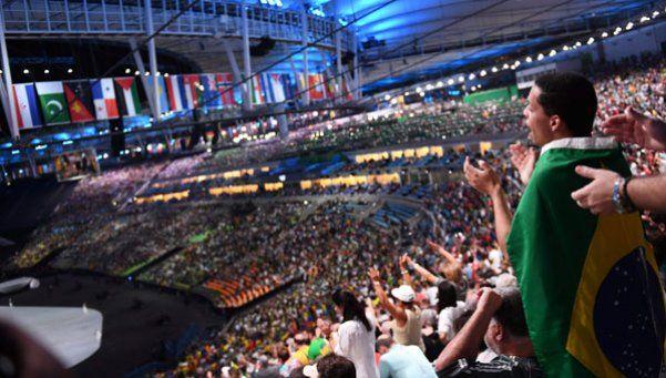Se abre el telón: la impactante ceremonia inaugural de Río 2016