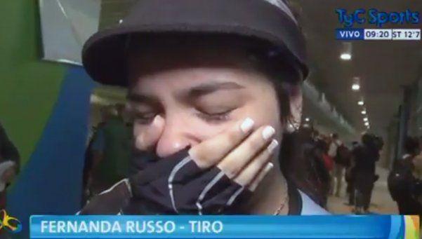 Video | La emoción de Fernanda Russo, la más joven de los Juegos