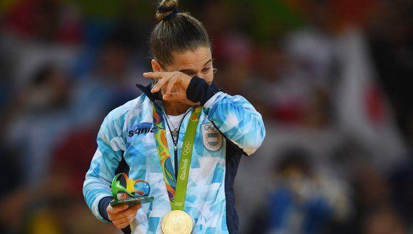 Messi celebró la consagración olímpica de la