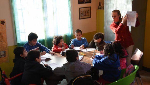 En San Martín, brindan apoyo escolar de manera grauita