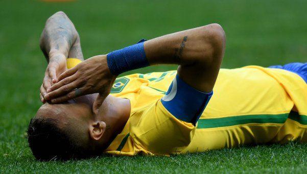 Una nueva decepción para el Brasil de Neymar: no pudo con Irak