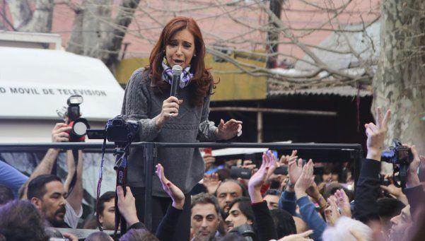"Cristina Kirchner llamó a ""resistir para avanzar"""