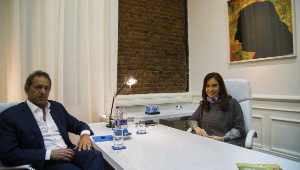 Cristina y Scioli: primer encuentro desde las últimas elecciones
