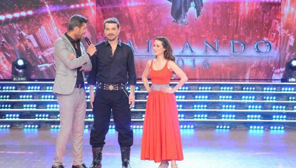 Bailando 2016: Peter Alfonso brilló en el folklore a pesar del la furia de Tinelli