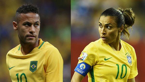¿Panqueques? Brasileños preferían a Marta sobre Neymar