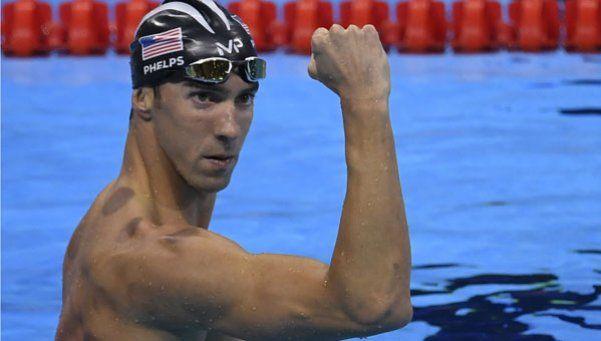 Phelps ya tiene más medallas doradas que Argentina en toda su historia olímpica