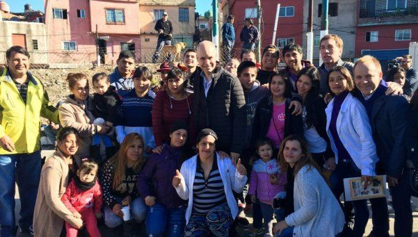 Rodríguez Larreta anunció un plan de urbanización para la Villa 31