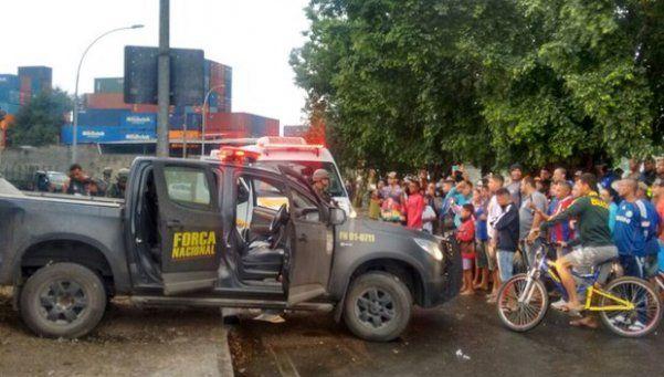 Dos policías de la Fuerza Nacional, asesinados en una favela