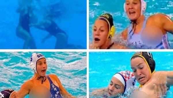 Río 2016: los momentos más hot del waterpolo femenino