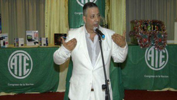 Claudio Britos ganó las elecciones de ATE en el Congreso