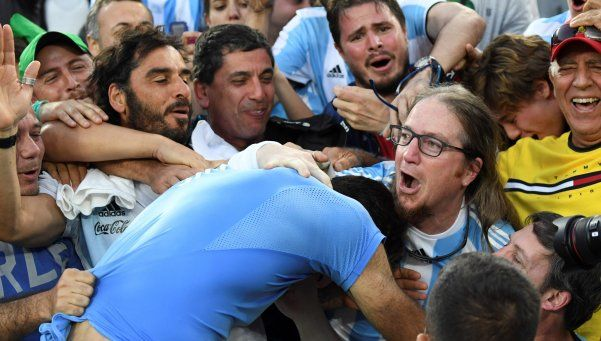 Video | Del Potro se tiró a la tribuna tras ser finalista