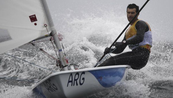 Alsogaray quedó noveno y el lunes irá en busca de una medalla