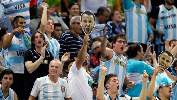 Unos 80 mil argentinos, en la primera semana de los Juegos en Río