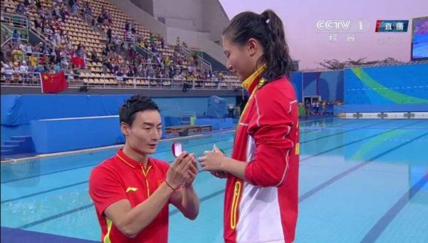#Río2016: ganó la medalla de plata y su novio le pidió matrominio