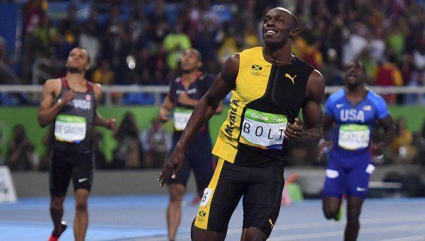 Bolt, a la altura de la historia: ganó los 100 metros