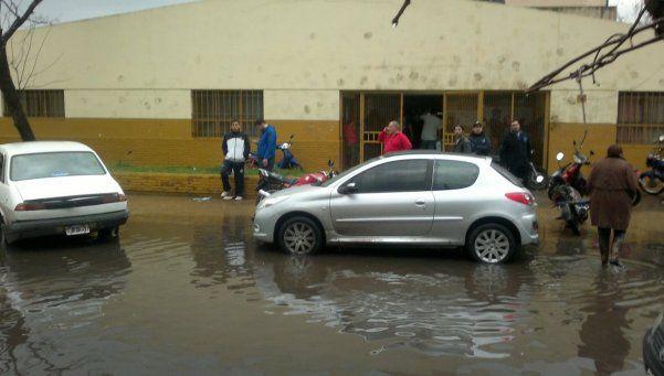 VillaLuján también se inunda cuando no llueve
