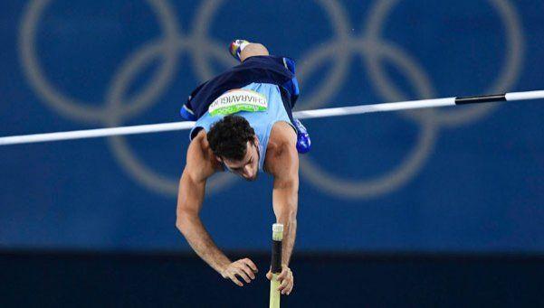 Chiaraviglio no pudo con los 5,65 metros y quedó eliminado de la final