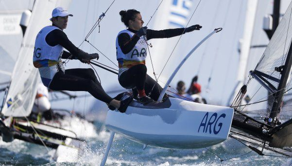 Segundo oro para la Argentina: Lange y Carranza se consagraron en vela