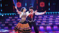 Bailando: el folklore no le cayó bien a Diego Junior
