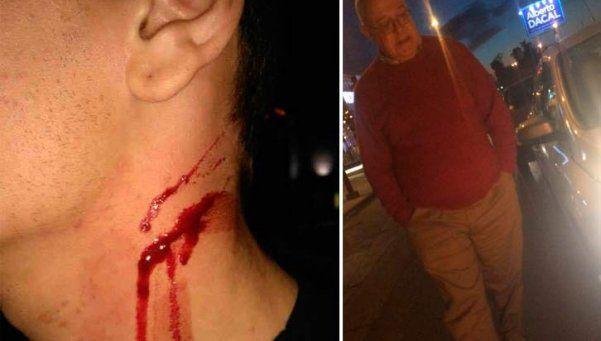 Un juez hirió a un joven con un cuchillo por una pelea de tránsito