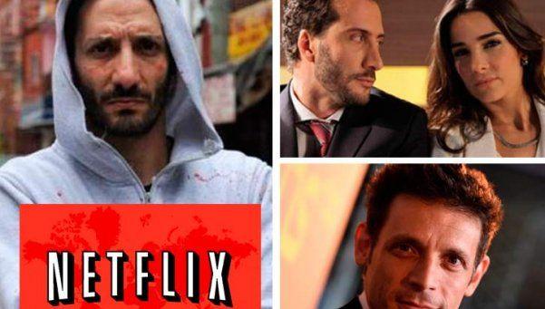 Tres series nacionales llegan a Netflix