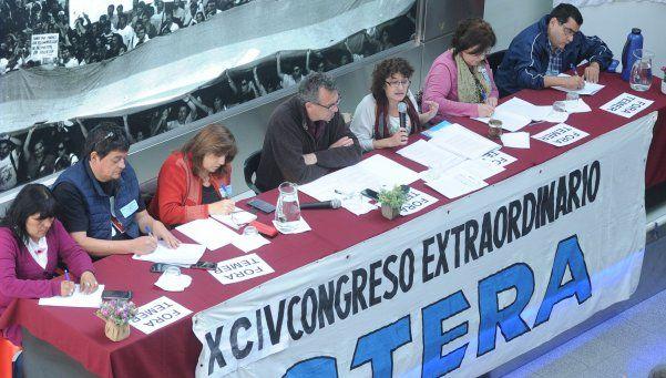 Ctera convocó a un paro nacional docente para el 24 de agosto