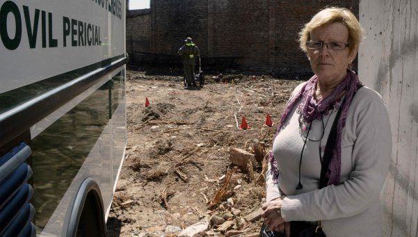 La mamá de Miguel Bru se encandenó en los Tribunales de La Plata