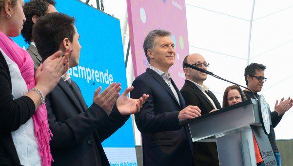 Macri presentó un proyecto para emprendedores en Tecnópolis