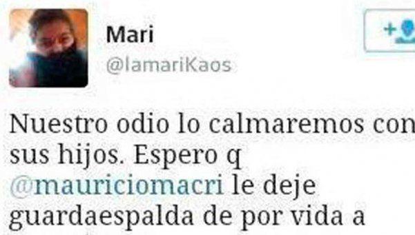 La tuitera que amenazó a Antonia Macri quedó al borde del juicio oral