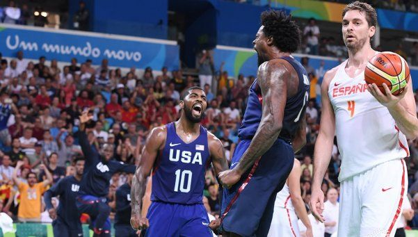 Estados Unidos y Serbia jugarán la final en básquet masculino