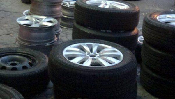 Cada día se roban más de 260 ruedas de automóviles