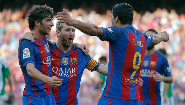 El Barcelona no tuvo piedad con el Betis en el debut de la Liga
