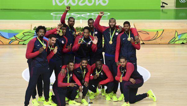 El Dream Team cumplió con los pronósticos y se llevó el Oro