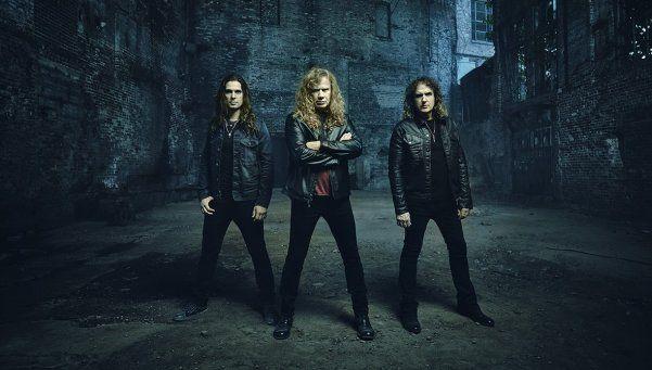 Megadeth: Espero algo realmente loco en el Luna, será inolvidable