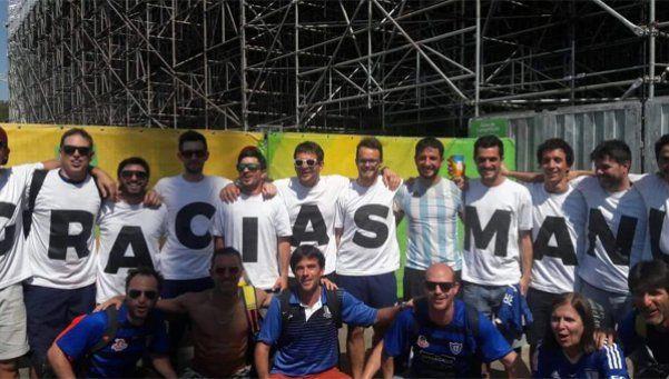 Los hinchas argentinos, el apoyo clave para los deportistas