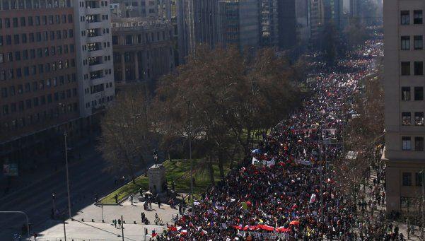 Chile: Un millón de personas se movilizaron contra las AFP