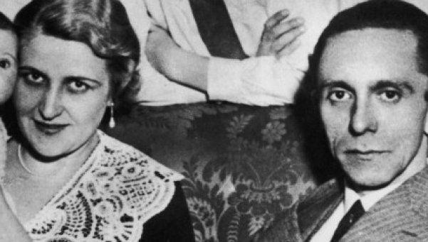 La esposa de Goebbels era judía