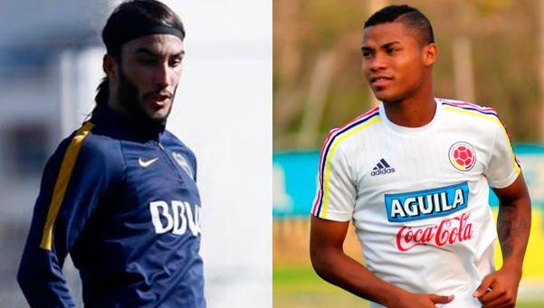 Pérez y Barrios, los colombianos de Boca: ¿quiénes son?