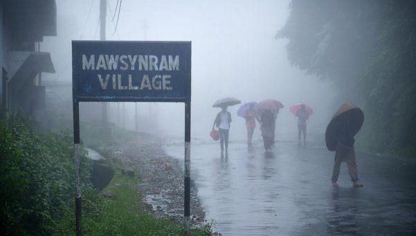 En la India está el pueblo con más humedad del mundo