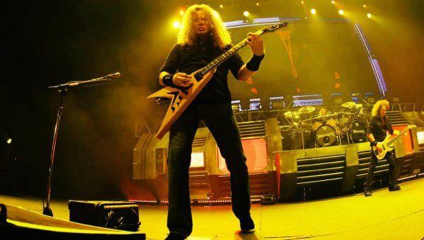 Megadeth, Mustaine y Argentina, un amor que trasciende los tiempos