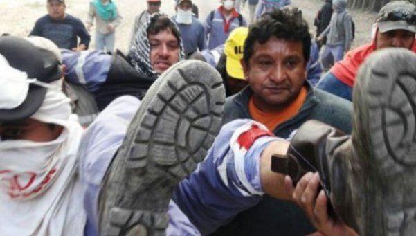 Video | Violenta represión a trabajadores salteños