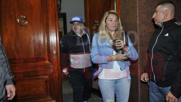 Maradona recibió a Junior cara a cara y a corazón abierto