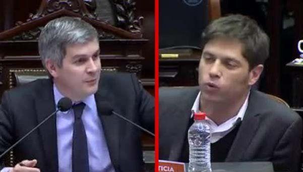 Video | Marcos Peña y Kicillof se cruzaron en el Congreso