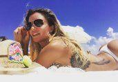 Claudia Ciardone hace arder Miami con sus poses hot