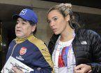 Rocío fue la pieza clave de la reunión de los Maradona