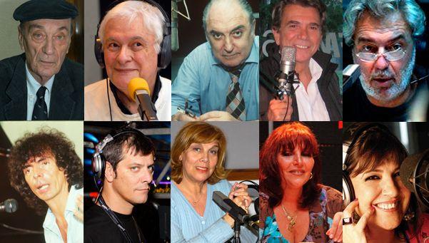 96° aniversario: 10 voces que dejaron huella en la radiofonía argentina