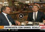 """De Scioli a la CNN: """"Si yo hubiera ganado, este bar estaría lleno"""""""