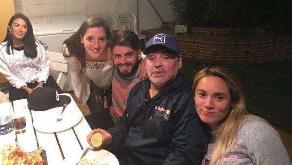 Los Diego: desde una invitación a Dubai a pasear juntos por Nápoles