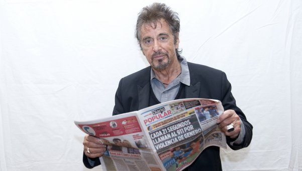 Al Pacino actuará en el Teatro Colón
