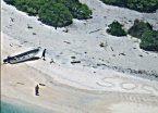 Se perdieron en una isla durante una semana, pero el S.O.S. los salvó